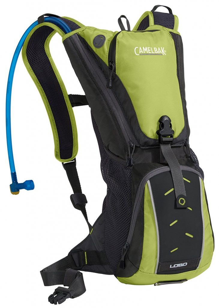 Camelbak Lobo 100 Oz Hydration Pack, Macaw Green/Black
